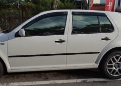 Дефлекторы окон для Volkswagen Golf IV '97-03, хетчбек, 5дв. (Hic)