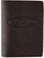 """Обложка для документов темно-коричневая """"Ford"""""""
