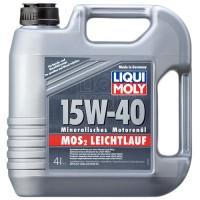 LIQUI MOLY MoS2 Leichtlauf  15W-40 (4 л.)