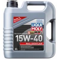 LIQUI MOLY LIQUI MOLY MoS2 Leichtlauf  15W-40 (5 л.)
