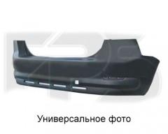 Задний бампер Ford Mondeo '07-10 Седан, (два выхлопа) со спойлером и парктр. (FPS)