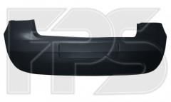 Задний бампер Volkswagen Golf V '04-09 Хетчбек, цельнолитой, верхний и нижний (FPS)