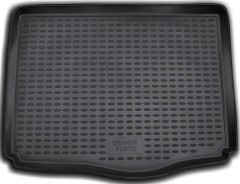 Коврик в багажник для Fiat Grande Punto '05-, полиуретановый (Novline) черный