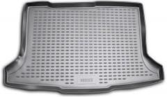 Коврик в багажник для Fiat Sedici '06-, полиуретановый (Novline / Element) черный