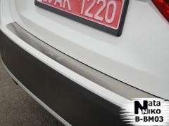 NataNiko Накладка на бампер для BMW X1 E84 '09-15 (Premium)