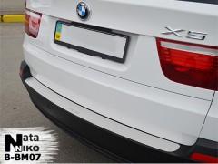 NataNiko Накладка на бампер для BMW X5 E70 '07-13 (Premium)