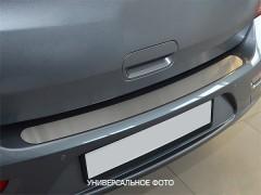 NataNiko Накладка на бампер для Chevrolet Aveo '06-11 (Premium)