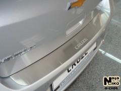 NataNiko Накладка на бампер для Chevrolet Cruze '09-16 Седан (Premium)