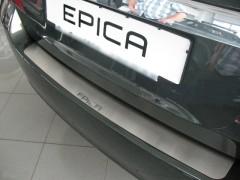 NataNiko Накладка на бампер для Chevrolet Epica '07-12 (Premium)