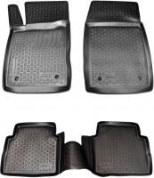 Коврики в салон для Opel Vectra C '02-08 полиуретановые, черные (L.Locker)
