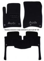 Коврики в салон для Audi A3 '04-12 текстильные, черные (Люкс)