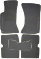 Коврики в салон для Subaru Forester '03-08 текстильные, серые (Люкс) без лентяйки