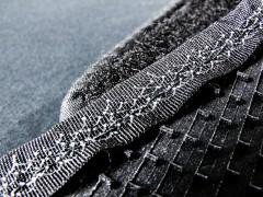 Фото 7 - Коврики в салон для Audi A6 '05-10 текстильные, серые (Люкс)