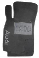 Фото 2 - Коврики в салон для Audi A6 '05-10 текстильные, серые (Люкс)