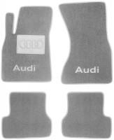 Коврики в салон для Audi A7 '10- текстильные, серые (Люкс)