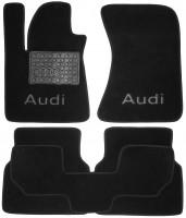 Textile-Pro Коврики в салон для Audi A8 '10- текстильные, черные (Люкс)