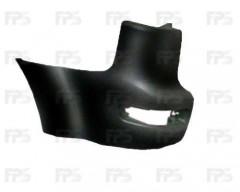 Угольник заднего бампера Mitsubishi Outlander XL '07-10 правый (без парктроника) (FPS) FP 4812 962