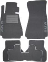 Коврики автомобильные BMW 5 E39 '96-03 текстильные серые Люкс