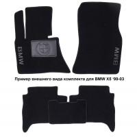 Коврики автомобильные BMW 6 F12 '11- текстильные чёрные Люкс