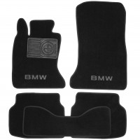 Textile-Pro Коврики в салон для BMW 7 F01 '08-15 текстильные, черные (Люкс)