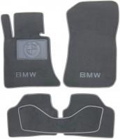Коврики в салон для BMW X1 E84 '09-15 текстильные, серые (Люкс)