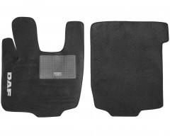 Коврики в салон для DAF XF-105 текстильные серые (Стандарт)