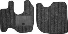 Коврики в салон для Mercedes Atego 818 текстильные черные (Record)