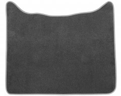 Коврики в салон для DAF XF-105 МКП текстильные серые (Стандарт) середина