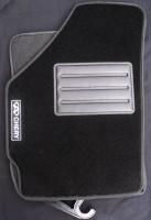 Коврики в салон для Chery QQ3 S11 '03- текстильные, черные (Люкс)