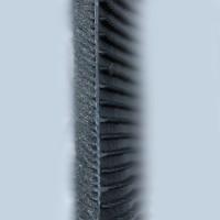 Фото 10 - Коврики в салон для Chery QQ3 S11 '03- текстильные, серые (Люкс)