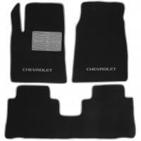 Textile-Pro Коврики в салон для Chevrolet Captiva '06-10 текстильные, серые (Люкс)