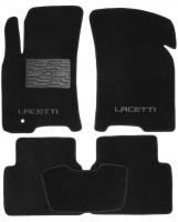 Коврики в салон для Chevrolet Lacetti '03-12 текстильные, черные (Люкс)