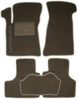 Коврики в салон для Chevrolet Niva '02- текстильные, серые (Люкс)