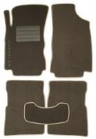 Коврики в салон для Chrysler PT Cruiser '00-10 текстильные, серые (Люкс)