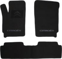 Коврики в салон для Citroen Berlingo '97-07 текстильные, черные, 4дв. (Люкс)