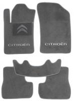 Коврики в салон для Citroen C3 / DS3 '10-16 текстильные, серые (Люкс)