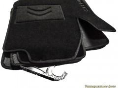 Коврики в салон для Citroen C3 '02-09 текстильные, черные (Люкс)
