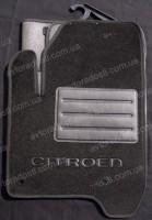 Коврики в салон для Citroen C3 '10- Picasso текстильные, черные (Люкс)