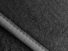 Фото 6 - Коврики в салон для Citroen C3 '10- Picasso текстильные, серые (Люкс)