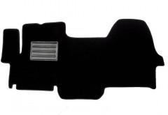 Коврики в салон для Citroen Jumper '06- текстильные, черные (Люкс)