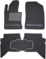 Коврики в салон для Daihatsu Terios '07- текстильные, серые (Люкс)