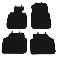 Коврики в салон для BMW 3 E90 '05-11 резиновые, черные (Star Diamond)
