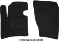 Коврики в салон для Citroen Jumpy '96-07 текстильные, черные (Люкс) без лентяйки