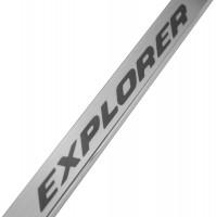 Фото 3 - Накладки на пороги Ford Explorer '11- (Premium)