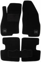 Коврики в салон для Fiat Grande Punto / Punto '05- текстильные, черные (Люкс)