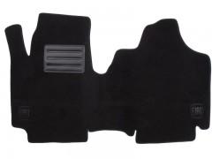 Коврики в салон для Fiat Scudo '00-06 текстильные, черные (Люкс)