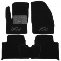 Коврики в салон для Ford C-Max '03-10 текстильные, черные (Люкс)
