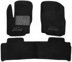 Коврики в салон для Ford S-Max '06-15 текстильные, черные (Люкс)
