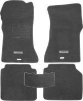 Коврики в салон для ГАЗ 31105 Волга '04-09 текстильные, серые (Люкс)