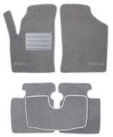 Коврики в салон для Geely CK '06- текстильные, серые (Люкс)